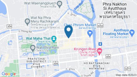 The Heart Ayutthaya Holiday Home Map