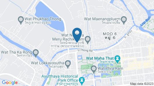 Baan Choeng Tha Map