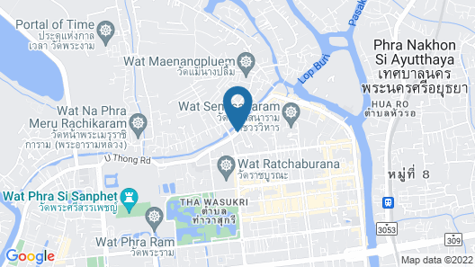 Water Front - Hostel Map