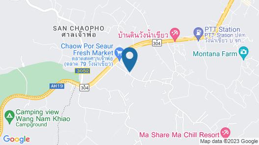 Phuklenglom Wang Nam Khiao Map