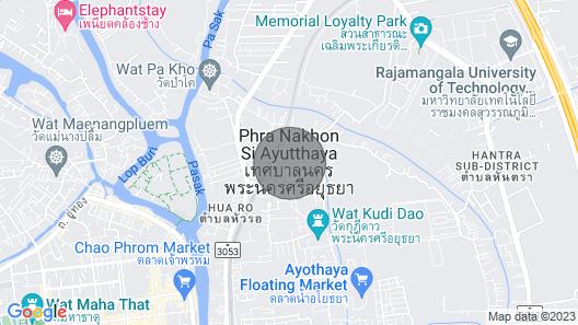 Peaceful Thai Wood Cabin Map