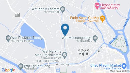 Ban Klong Srabua Map