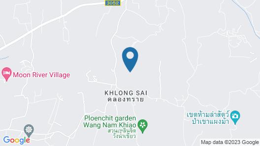 Klong Sai Hills Resort Map