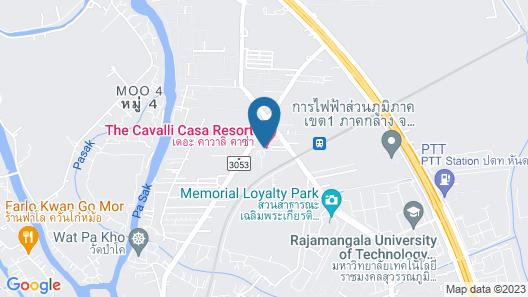 The Cavalli Casa Resort Map