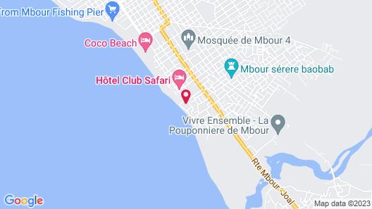 Keur Marrakis Map