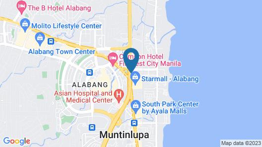 Hotel Sogo Alabang Rotonda Map