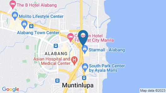 Hotel Sogo Montillano Map