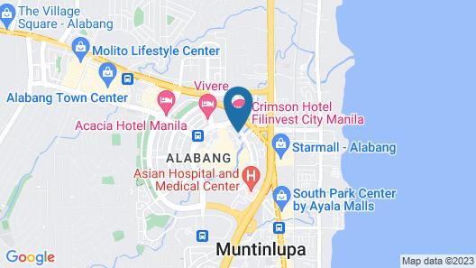 Titan Condo at Entrata Alabang Map