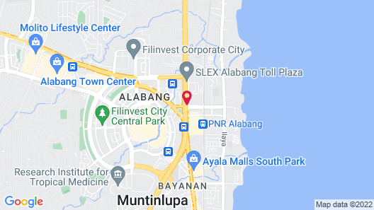 Hotel Sogo Alabang South Road Map