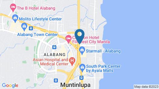 Hotel Sogo Alabang South Road Map
