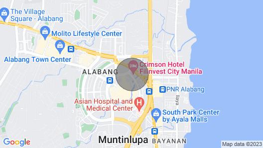 Posh Entrata Soho Suite-- Festival Mall View Map