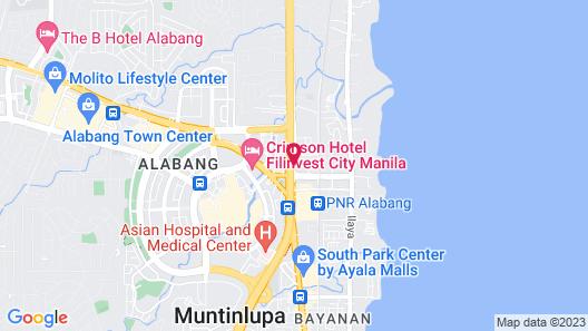 El Rancho Hotel Alabang Map