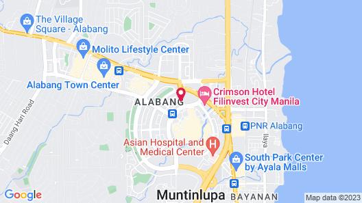 Vivere Hotel Map