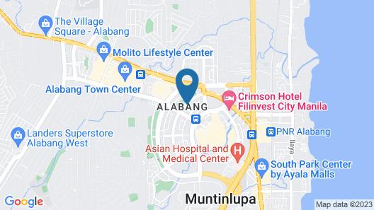 Somerset Alabang Manila Map