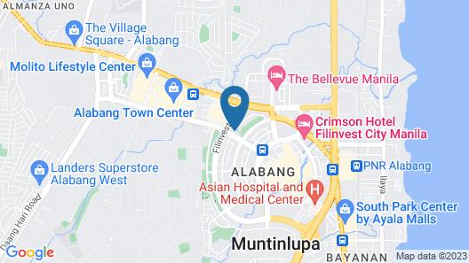 Acacia Hotel Manila Map