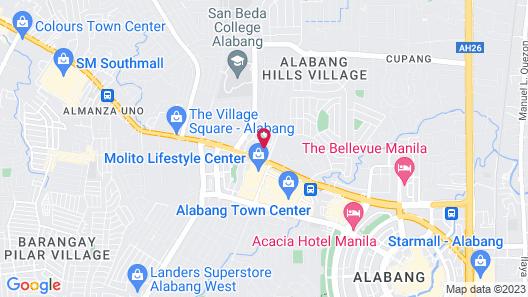 Azumi Boutique Hotel Map