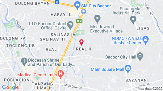 Hive Manila Guesthouse Map