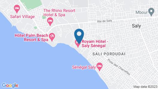 Hotel Neptune Map