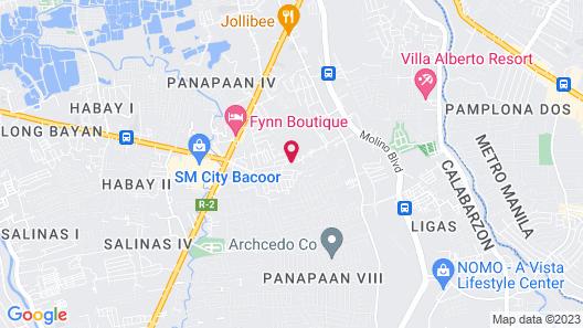 Cool Martin Resort Hotel Map
