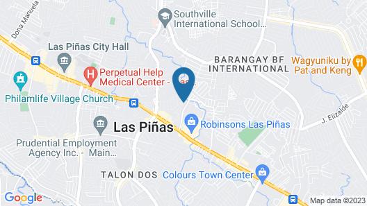 RedDoorz Plus @ Ruby Las Pinas Weekly Stay Map