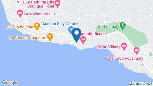 Prestigieuse villa en bord de mer, Residence La Mangrove, Saly Map