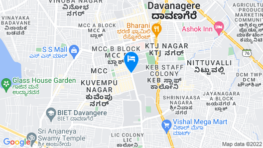 Mango Hotels Naveen Map