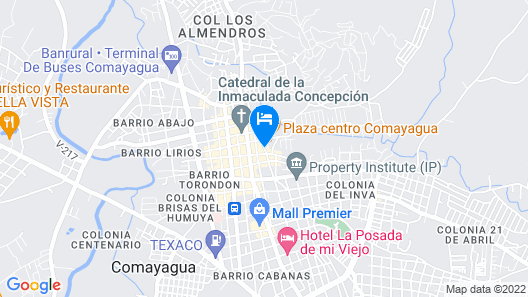 Patio De Joan Map