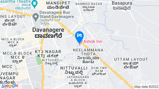 Ashok Inn Map