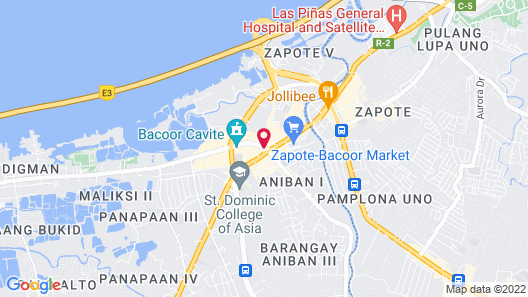 Hotel Sogo Bacoor Map