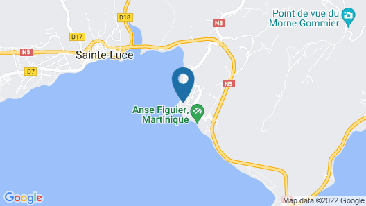 Karibea Resort Sainte Luce - Amyris Map