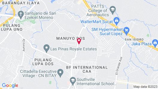 Asiatel Las Pinas Map
