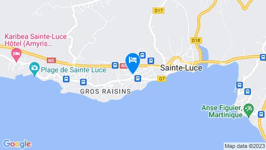 Les Créolines Map
