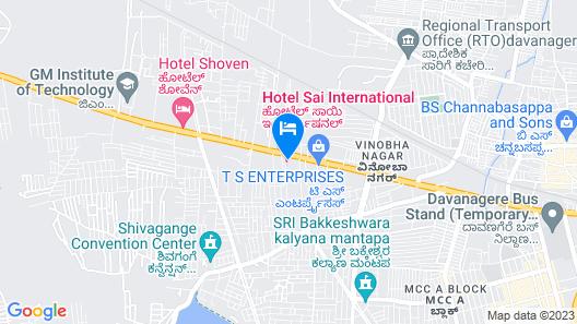 Sai International Hotel Map