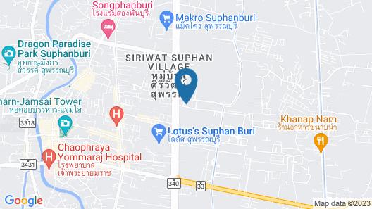 Suphan Wanwarn Resort Map