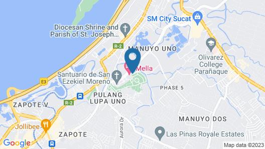 Mella Hotel Map