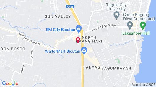 Azure Urban Resort 3 Bedroom Suite Map