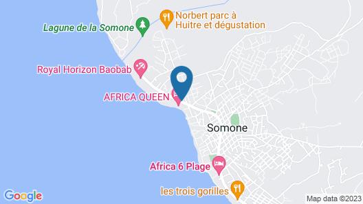 Hotel Africa Queen Map