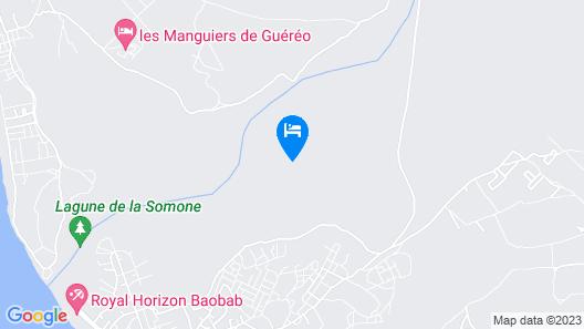 Le Lodge Dalaal Diam Map