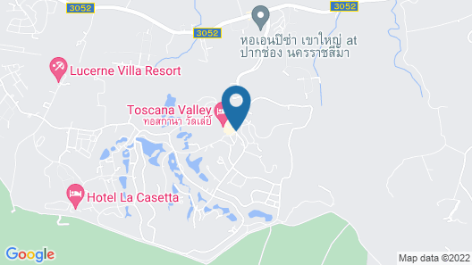 Hotel La Casetta by Toscana Valley Map