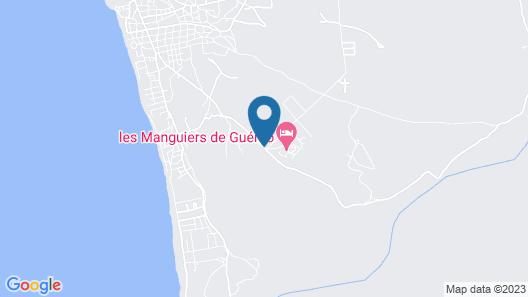 Les Manguiers de Guéréo Map