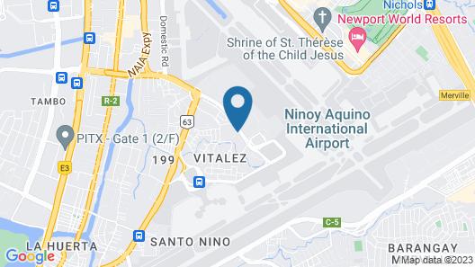 JORIVIM Apartelle Map