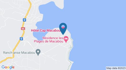 Hotel Cap Macabou Map