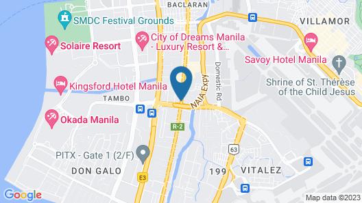 Go Hotels Manila Airport Road Map