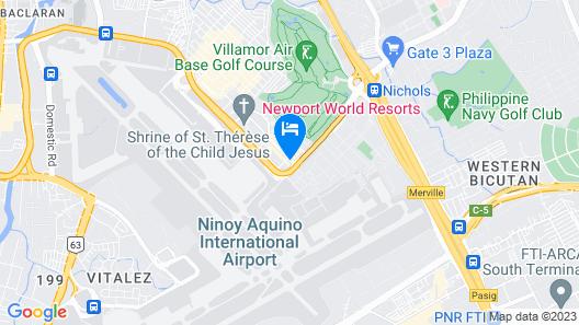 Holiday Inn Express Manila Newport City, an IHG Hotel Map