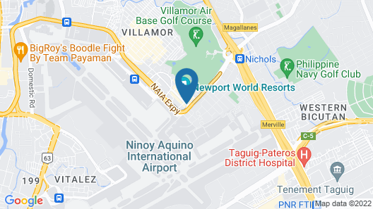 Holiday Inn Express Manila Newport City Map