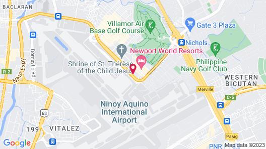 Savoy Hotel Manila Map