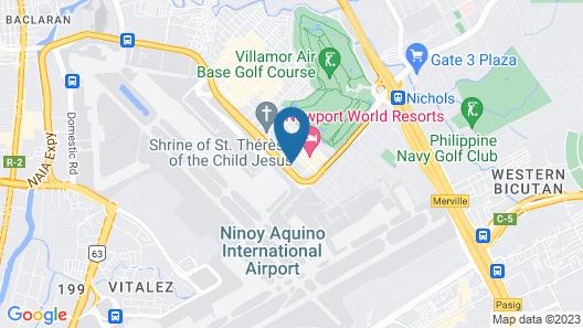 Sheraton Manila Hotel Map