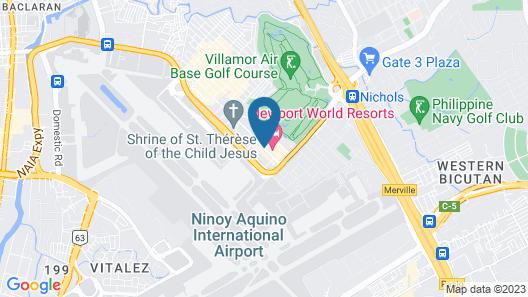 Hilton Manila Map