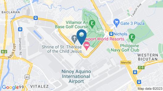 Manila Marriott Hotel Map