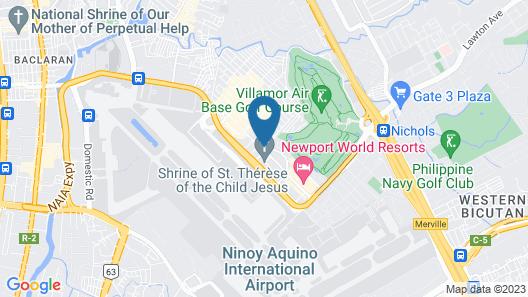 101 Newport Condo Across the Airport Map